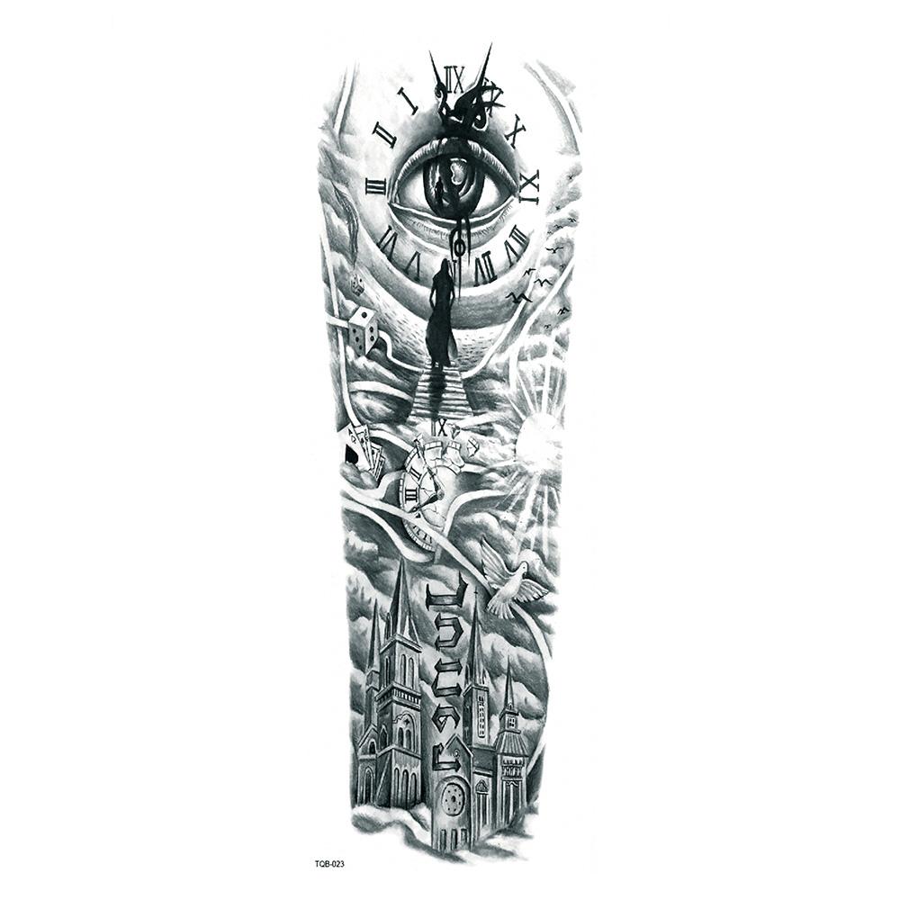 Tatuaż Zmywalny Rękaw Tqb 023